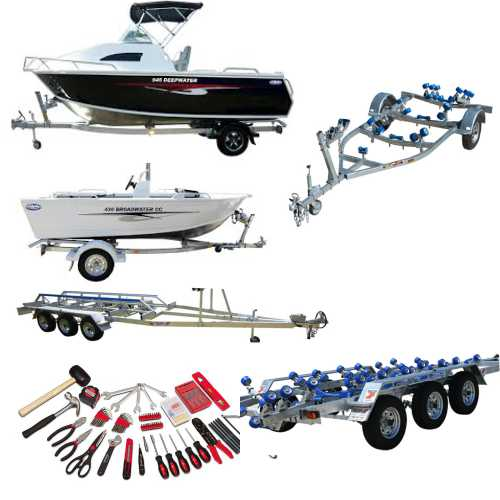 Service & Safety Check|DUAL Axle Braked BOAT Trailer (3500Kg Rated)